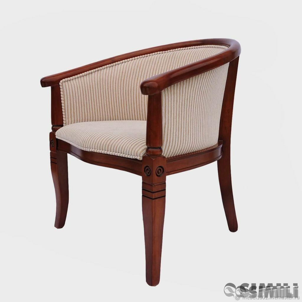 Деревянные чайные кресла в интерьере современного дома