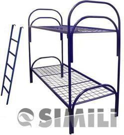 Бюджетные двухъярусные кровати металлические по низким ценам