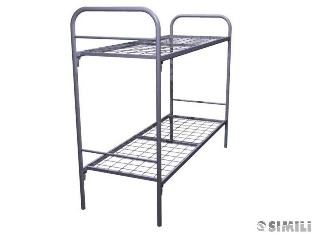 Купить кровати металлические для общежитий, интернатов, оздоровительных лагерей