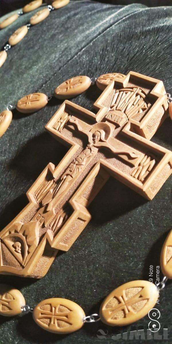 крест иерейский ручной работы