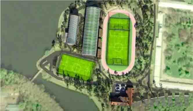 Спортивный комплекс, о. Баумана (Инвесторам)