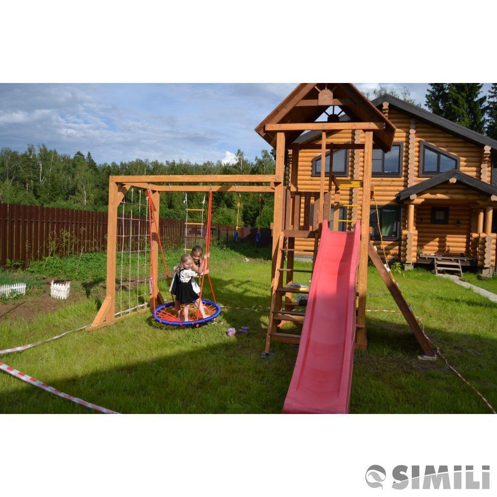 Лучшие деревянные детские площадки МАДРИД !
