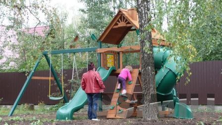 Качественные детские площадки для досуга, МОЙДВОР !