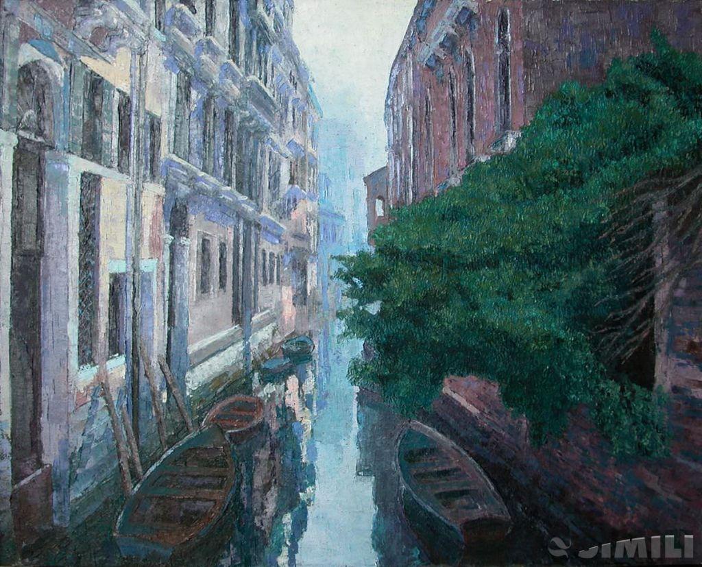 Продаю картину: автор Аксамитов Юрий, la mia Venezia, утро