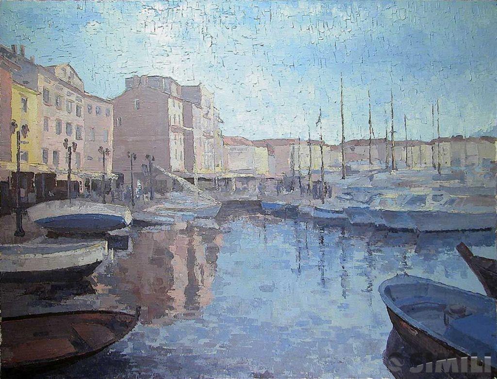Продаю картину: автор Аксамитов Юрий, Saint Tropez, морина