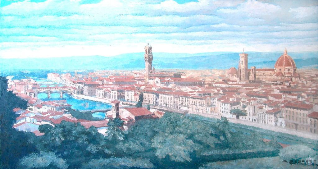 Продаю картину: автор Аксамитов Юрий, La Mia Florenzia