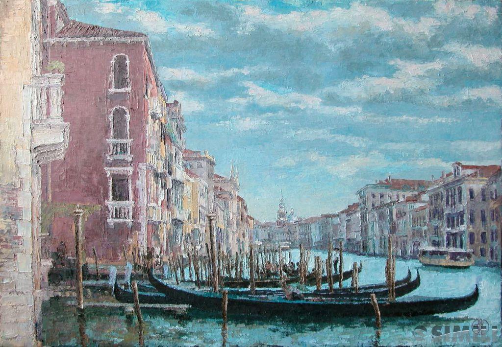 Продаю картину: автор Аксамитов Юрий, La mia Venezia, la Grande Canal