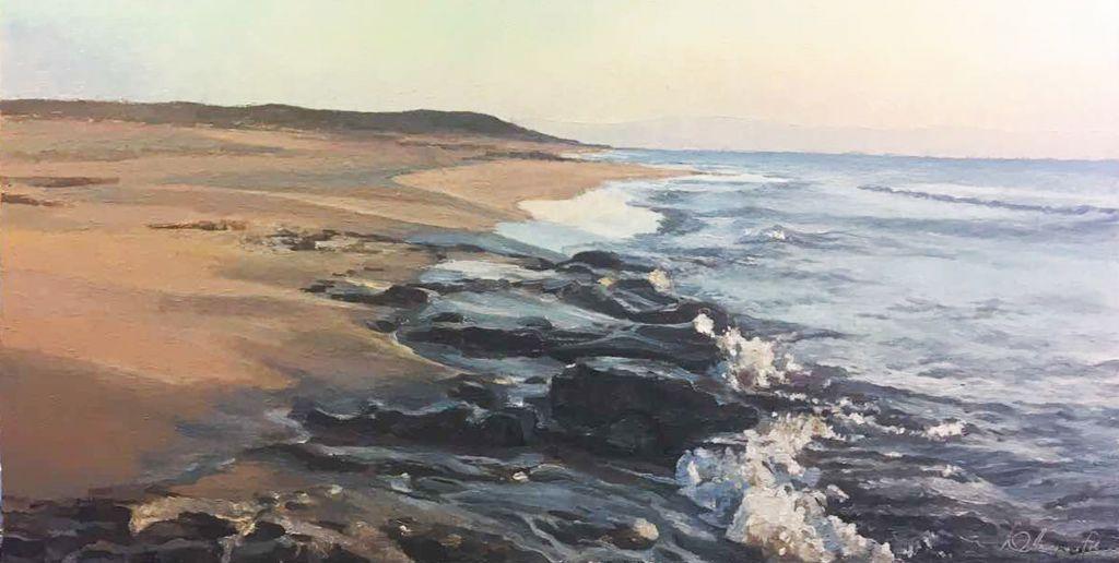 Продаю картину: автор Аксамитов Юрий, Кипр север, черепаший пляж
