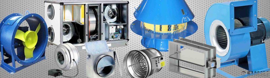 Поставка, монтаж, сервис систем промышленной вентиляции и кондиционирования