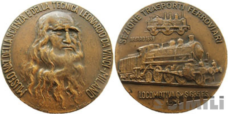 Итальянская настольная медаль