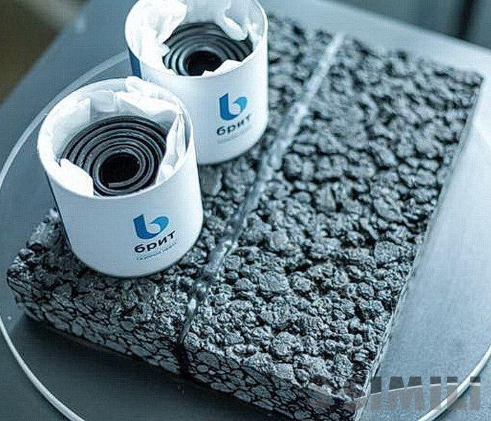 Дорожная битумно-полимерная лента Брит А 40х5