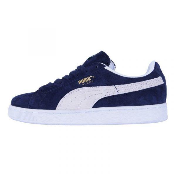 Кеды Puma Suede Classic Blue Gray