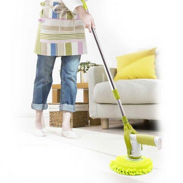 Швабра с 6-ю насадками House Hold Electric Cleaner